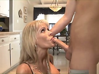 Tattooed guy bangs a blonde hottie big tits hardcore mature video