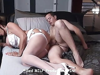 21Birthday gift-countless seed dumps inside Mrs.STEELE WOMB brunette bbw mature video