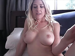 Alone With My Step Mom - Kit Mercer - Family Therapy amateur blonde milf video