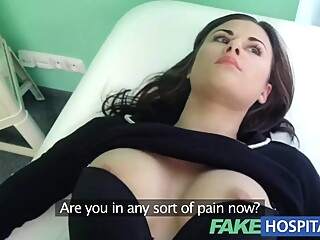 Fake Hospital Treatment make patient moan with pleasure point of view hardcore hd video