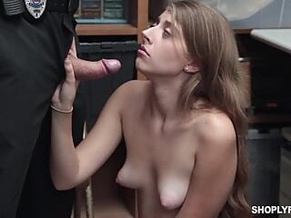 Alyce Anderson is not as experienced shoplifter as she is when it comes to sucking cocks amateur blond hd video