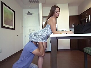 Rekindling with my hot latina stepmother leads to fucki brunette hd latina video